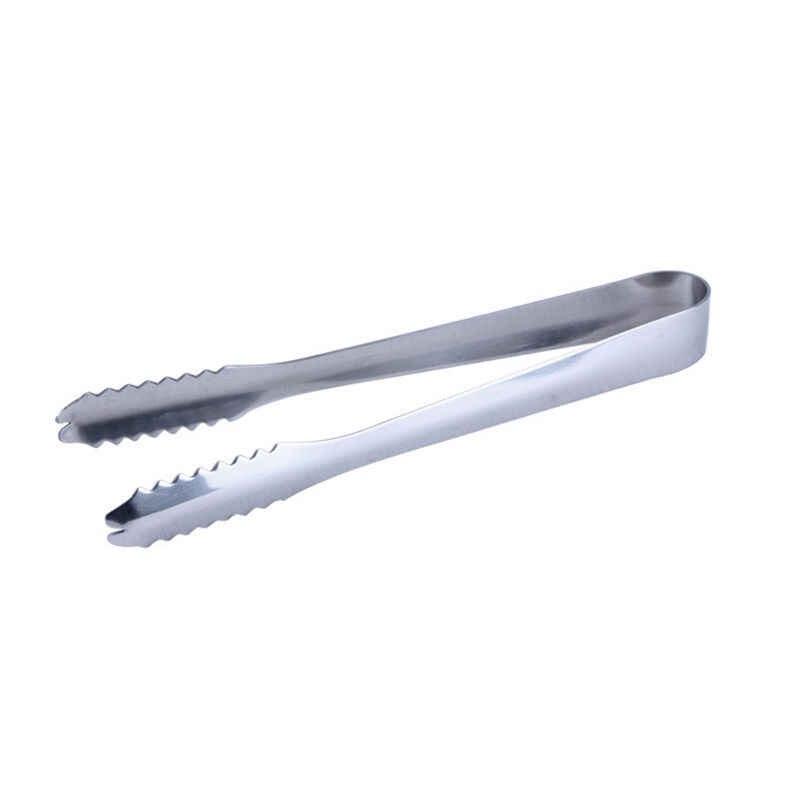 جديد 1 قطعة/الوحدة الجليد ملقط أداة بار الفولاذ المقاوم للصدأ الشواء كليب الخبز الغذاء الجليد المشبك اكسسوارات المطبخ
