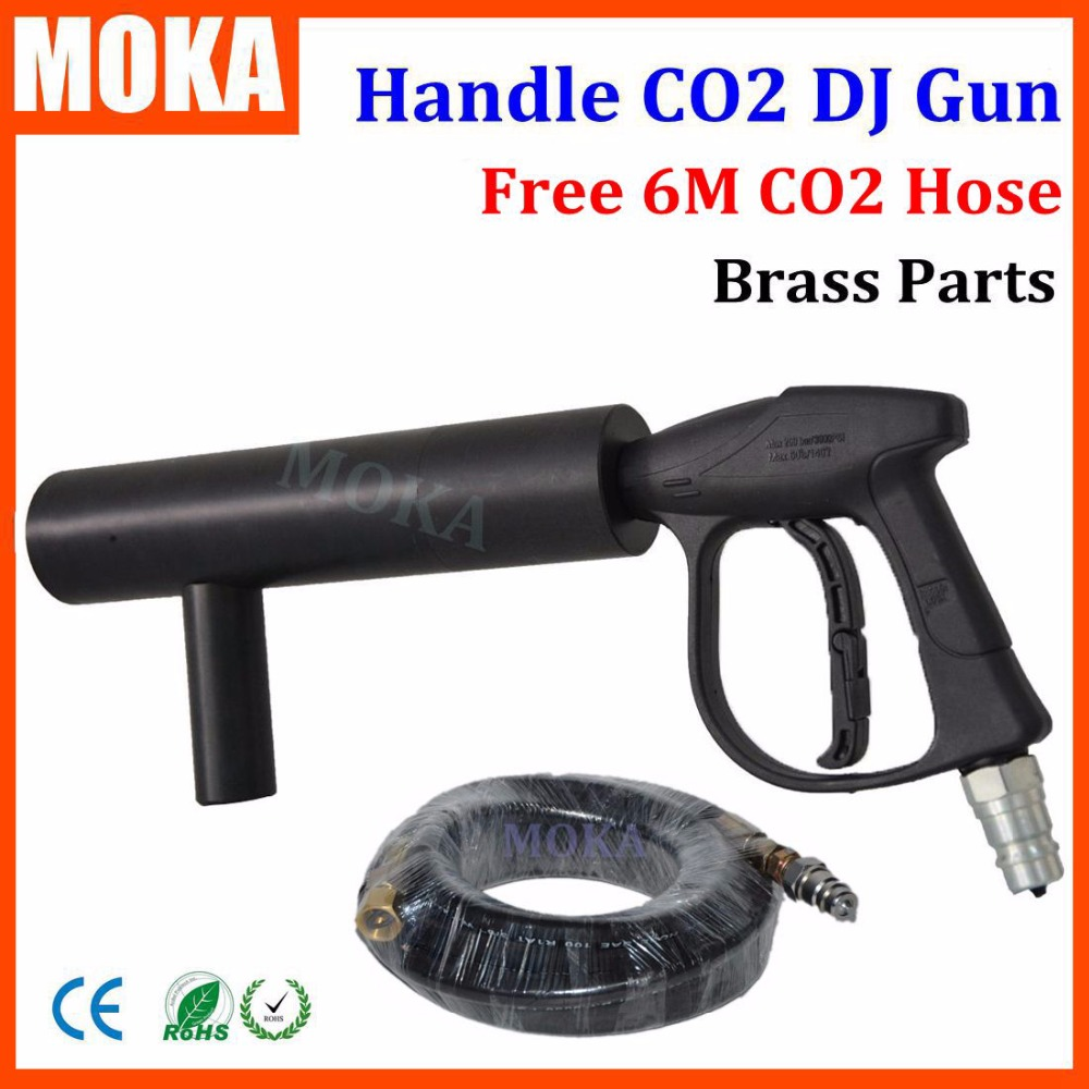 CO2 Handhold Cannon DJ CO2 Gun For Wedding Party Stage Effect Lights Handhold Stage CO2 Gun
