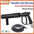 CO2 Пушки DJ Поручень СО2 Пистолет Для Свадьбы, Партии Этап Эффект Огни Handhold Этап СО2 Пистолет с 6 Метров шланг
