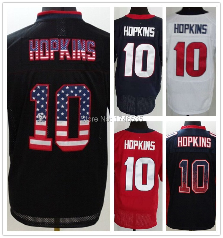 the best attitude 9ce20 4c728 Hot Wholesale Men's Elite American Football Jersey #10 ...