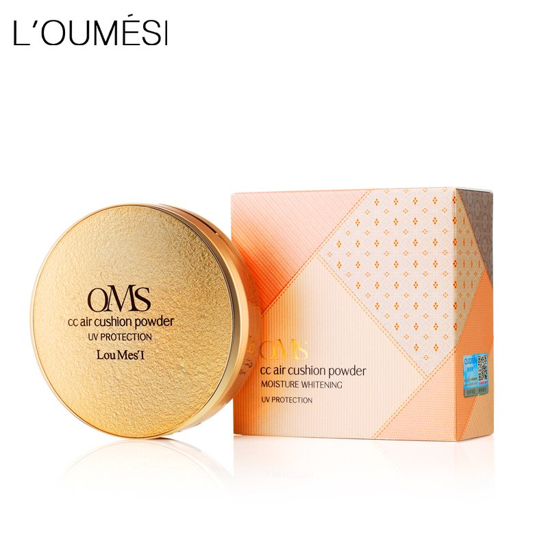Loumesi BB & CC Creams luftpude creme Concealer Moisturizing Foundation Moisturizer Oliekontrol Base Foundation Brighten 30g