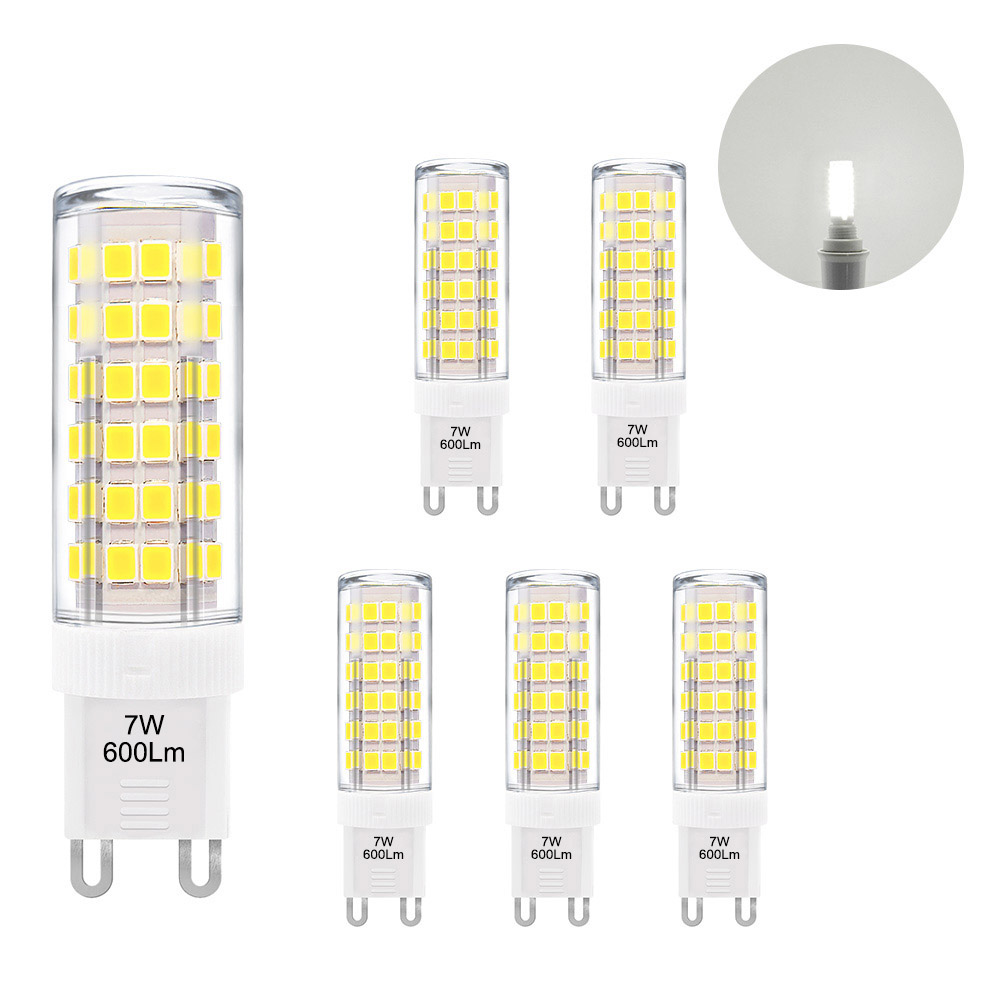 Bulb Capsule AC220-240V Replace Corn-Lamp Led-Light Halogen Cool GU9 White 60W 7W Miniature