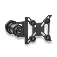 Universal Aluminum Alloy Anti Slip Clip Scope Phone Mount Adapter for 43 48mm Eyepiece Spotting Scopes & Telescope M0144A