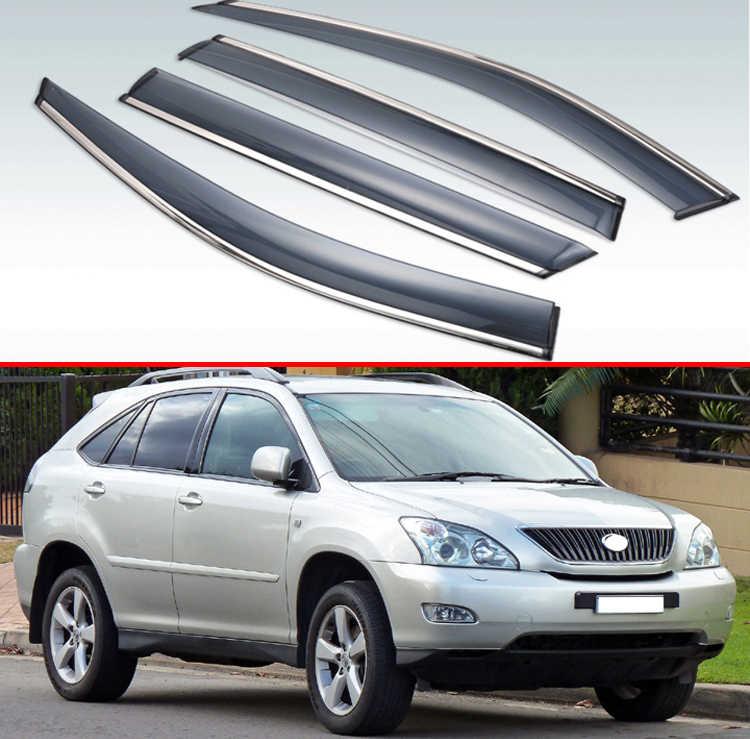 Vent Shade Window Visors 4DR For Lexus RX300 99-03 1999 2000 2001 2002 2003 4pcs