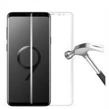 9H для samsung Galaxy note 9 Защитная пленка для экрана телефона note 5 note 8 на стекло защитная пленка для смартфона закаленное стекло