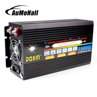 UPS DC 12V To AC 220V Car Power Inverter 1500W Peak Converters