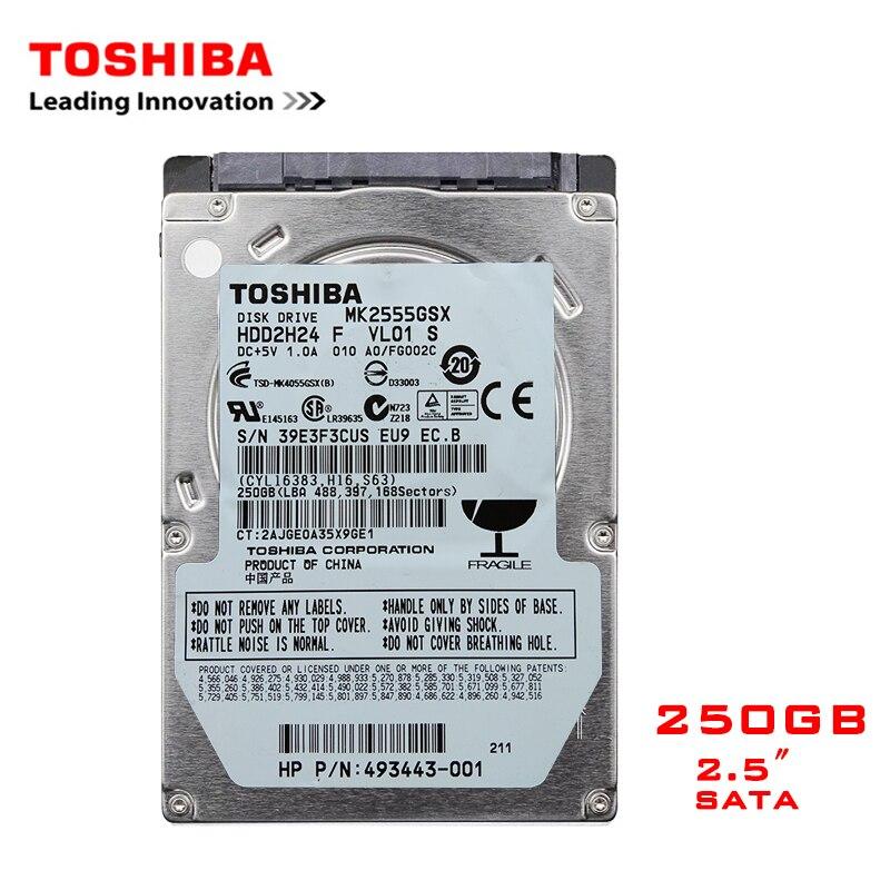 TOSHIBA Marca 250 GB 2.5