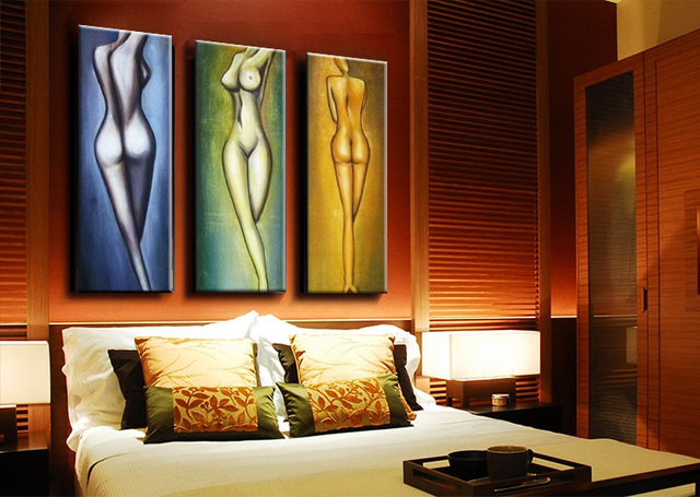 Beautiful Nude Girls Sex Nude Body Picture Chinese Women Oil Painting On Canvas For Home Decor