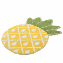 Funny Pineapple Doormat Anti-slip Bed Floor Mat Door Mat for Bedroom Bathroom Tatami Indoor Carpet Door Mat Housewarming Gift 3d pineapple print door mat