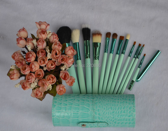 Profissional escovas de cosméticos caixa de maquiagem escova GIC-MB001 ( 12 pçs/set ) frete grátis