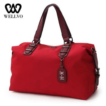 1c5a591f5 Los hombres bolsas de viaje bolso de equipaje de viaje para casuales de las  señoras bolso bandolera para hombre mujer de fin de semana bolso XA728WB