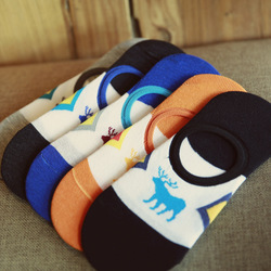 New men s deer pattern invisible socks spring summer fashion casual boat socks male shallow mouth.jpg 250x250