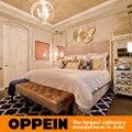 Moderno, estilo de la reina cama de tejido WB-RL160094 muebles para el dormitorio