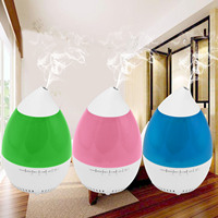 Behogar Multi Functional Aroma Diffuser Humidifier Bluetooth Music Player Essential Oil Light Hand Free Call Timing