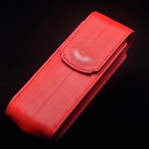 Image 2 - Роскошный чехол из натуральной кожи в деловом стиле с откидной крышкой для ведения атрибута S CEO 168 мобильный телефон, защитный чехол с полным покрытием, красный YBSV4