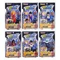 6 pçs/set Dragon Ball Z PVC Figuras KAI Goku/Vegeta/Piccolo Super DBFG054 Soldado Pode Ser Instalado 13 cm Brinquedos Frete Grátis