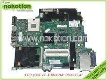 "FRU 42W7982 For lenovo thinkpad R500 15"" Laptop motherboard intel GM45 DDR3 Intel HD graphics Mainboard"