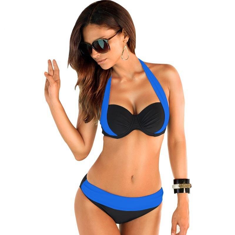 17 New Sexy Bikinis Women Swimsuit high waist brazilian bikini push up Bathing Swim Suit Bikini Set Plus Size Swimwear XXXL 4