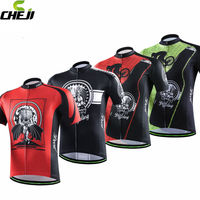 CHEJI Mens Cycling Outdoor Sports Ciclismo Jersey Bicycle Clothing Bike Quick Dry Breathable Size S-XXXL