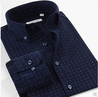 New Autumn Long Sleeve Casual Shirt Men camisas Plaid Shirts Corduroy Slim Fit Big Size XS L XL XXL XXXL XXXXL 5XL 6XL