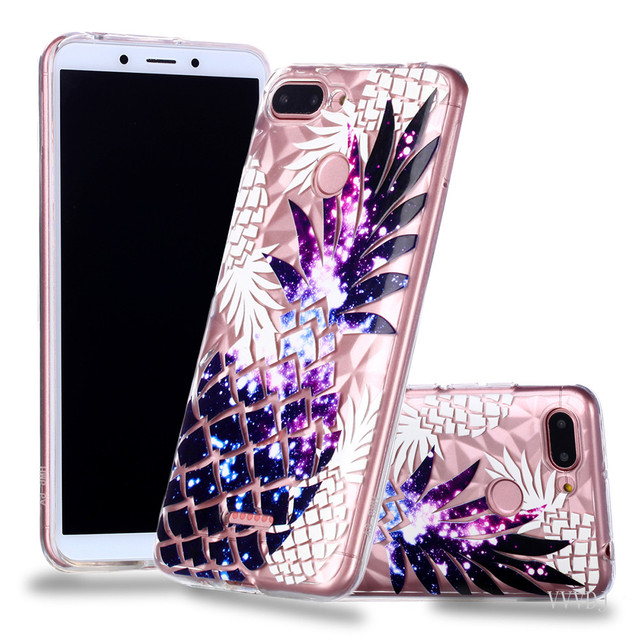 size 40 fd54a a050a US $3.63 9% OFF|For Xiaomi Redmi 6A 6 A A6 red mi 6A phone cases hoesjes  Bumper new style for red mi 6 A 6A back cover silicone case cartoon-in  Fitted ...