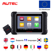 100% Original Autel MK808BT OBD2 Scanne Car Diagnostic Tool  Functions of EPB/IMMO/DPF/SAS/TMPS Better than launch x431