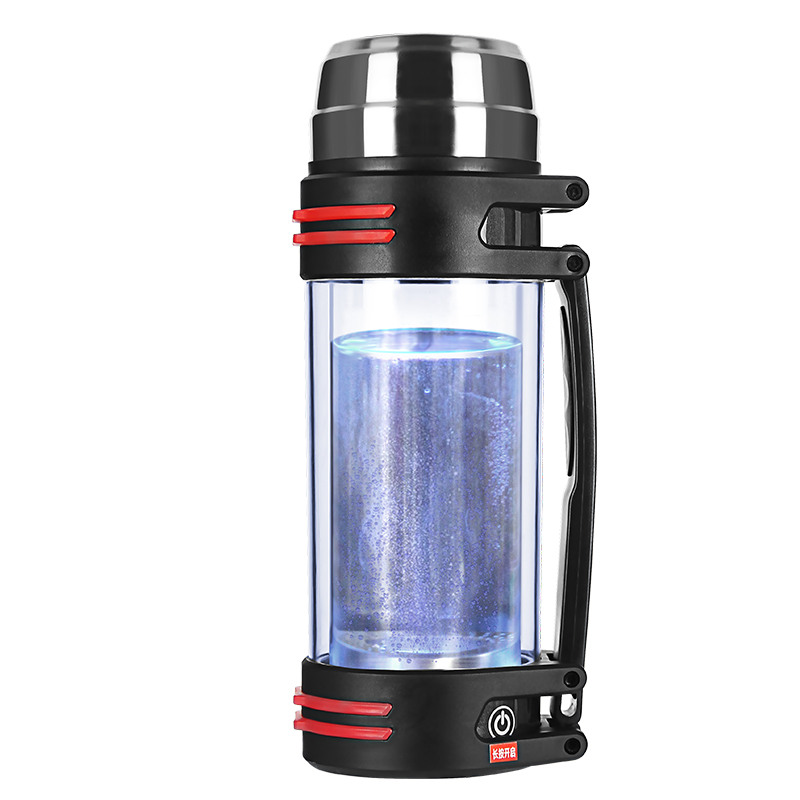 1.5L Family Rich Hydrogen Kettle Hydrogen Water Generator Water lonizer Alkaline Anti-aging Anti-fatigue Healthy Cup