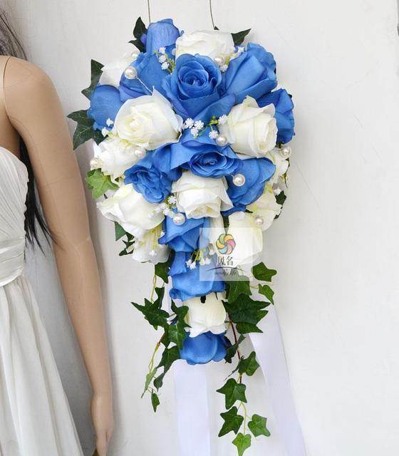 Blaue Blumen Hochzeit