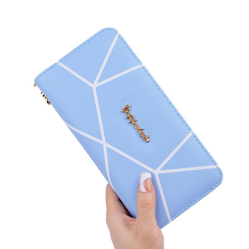 handväskor kvinnor plånböcker korthållare långt varumärke - Plånböcker - Foto 5