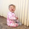 Mangas largas para bebés ropa de algodón puro Lápiz Labial de impresión Trajes Mamelucos Del Mono ropa de noche infantil Kids cómoda suave