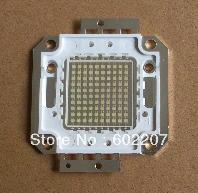 Excellent Quality Superbrightness 5000lm 620-630nm 100W red led chip with CE&RoHS