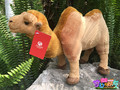 High Quality 22cm Simulation Stuffed Bactrian Camel Doll Plush Toy Simulation Animals Toys Children's  Gifts