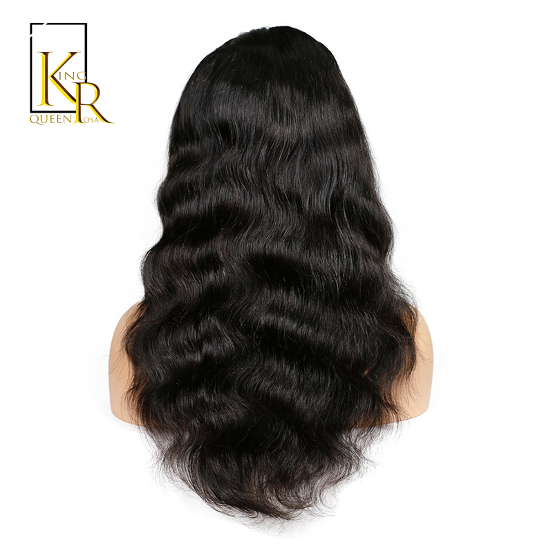 Front Human Hair Wigs For Black Women With Baby Hair 100% Remy Hair ...