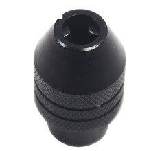 M8 Копировать патрон мульти патрон без ключа для вращающихся инструментов Dremel 0,5-3,2 мм быстрее сверло свопы dremel аксессуары