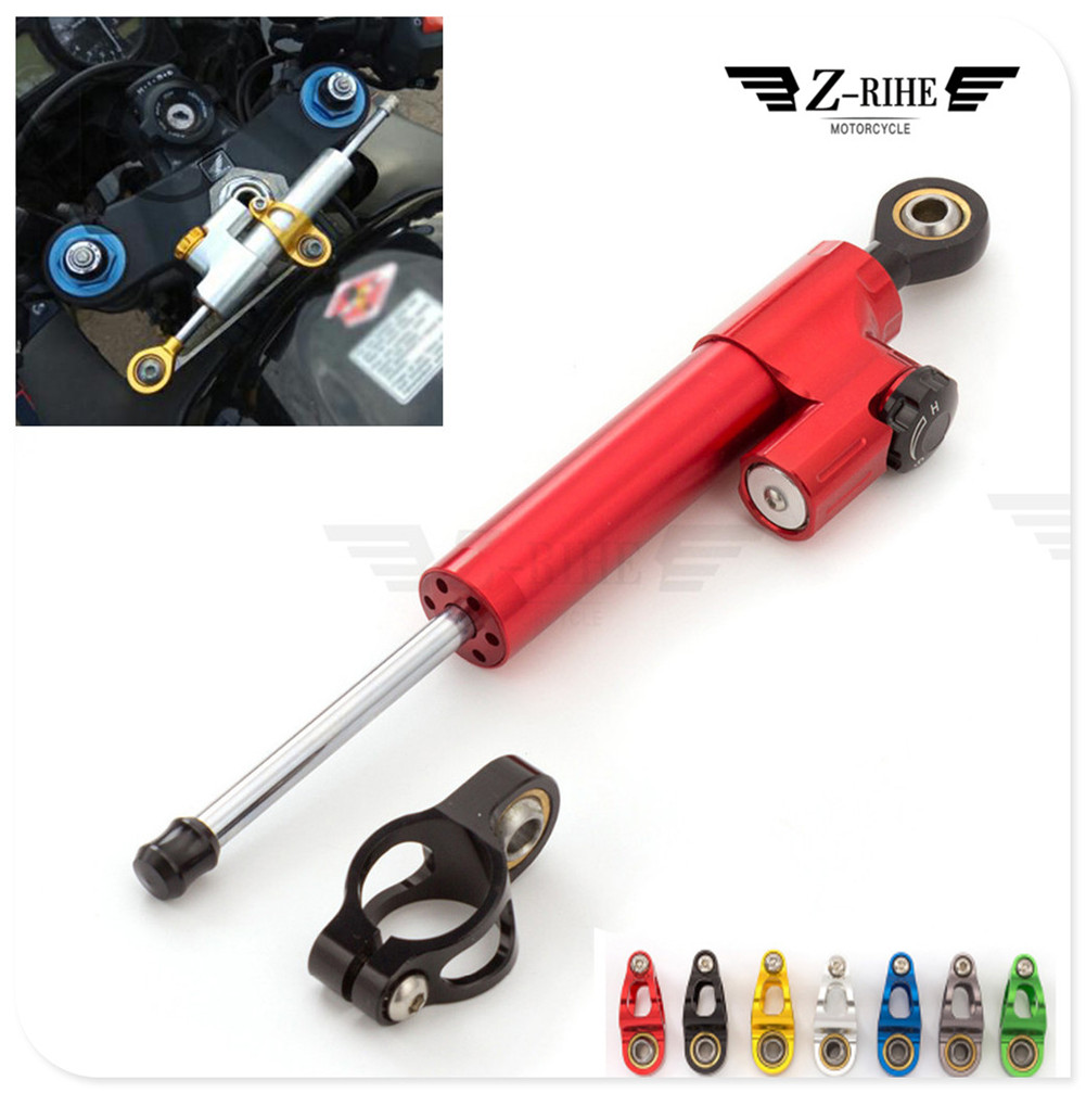 Motorcycle Adjustable Accessories Damper Stabilizer Damper Steering For SUZUKI DL650 V-STROM DR 650 S SE SV650 S GSXR1000 adjustable steering damper