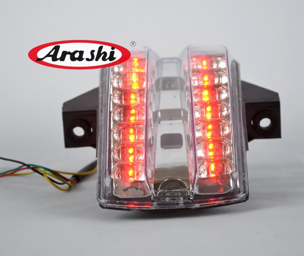 Arashi Rear Taillight Brake Integrated LED Tail Light Turn Signal Light For SUZUKI SV650 SV 1000 03-08 2004 2005 2007 external taillight assembly parts for jeep compass rear left right brake turn signal light lamp house holder 2007 to 2010