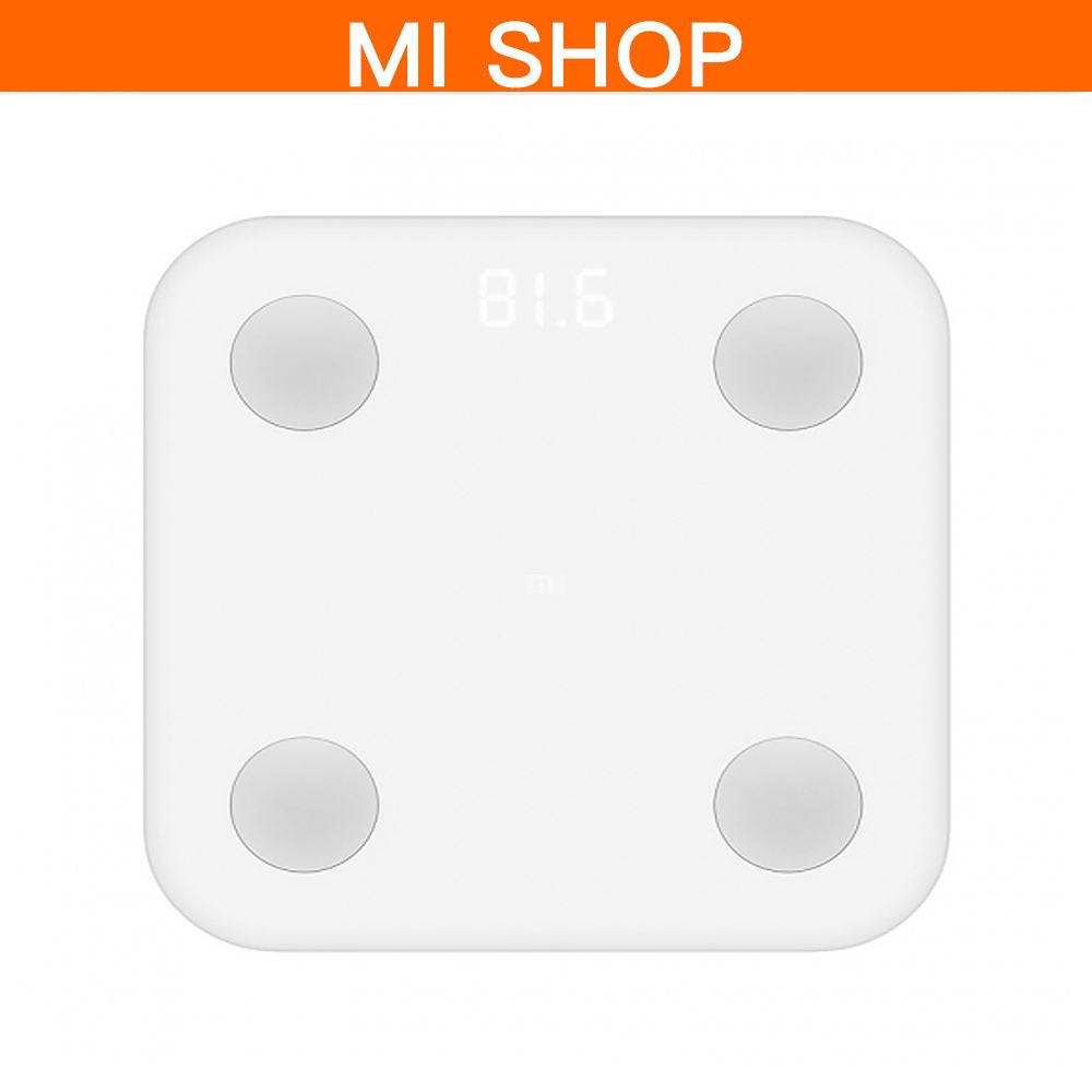 Original Xiaomi Mijia Weight Weighing Scale Smart Fat Scale 2 Body Composition Monitor Bluetooth 4.0