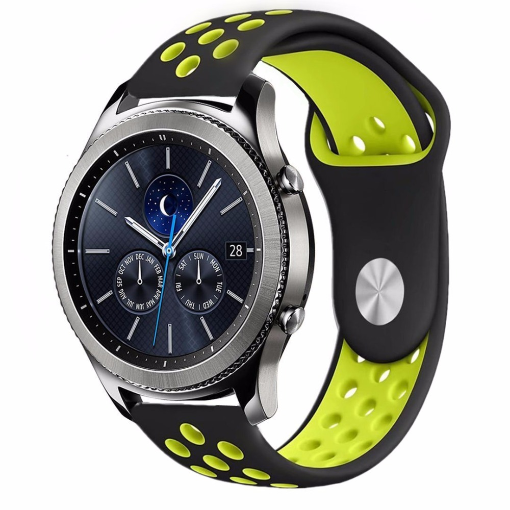 Gear S3 Frontier Strap For Samsung Galaxy Watch 46mm 42mm/active Band Gear Sport Amazfit Bip Strap Huawei Watch GT Watchband
