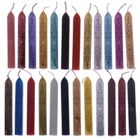 10 Pcs Sealing Wax Stick Stamp Vintage Rod Wax For Documents Sealing Retro Seal Stamps Wax