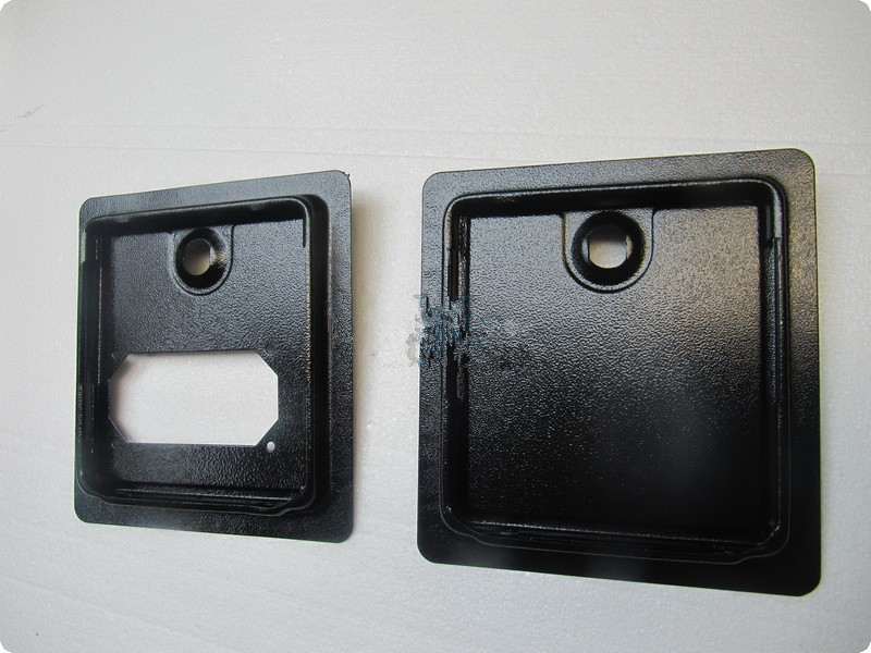 3 sets of Iron coin door/up & down black door with cam lock for arcade machine/accessories/coin operated game arcade cabinet