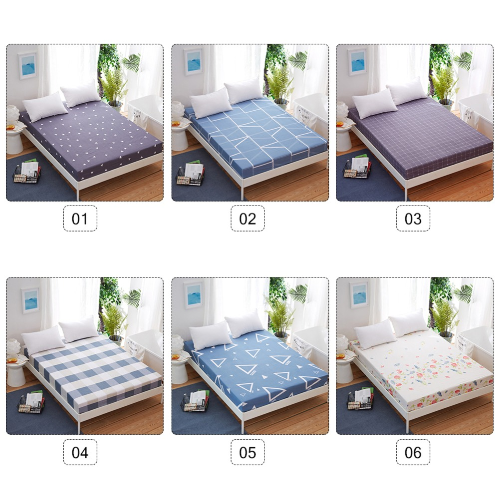 1Pc New Hot Sale Fitted Sheet Mattress Cover with All ...
