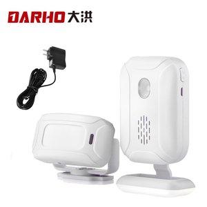 Image 5 - Darho Shop Store Home Entry Security Welcome Chime Doorbell Wireless Infrared IR Motion Sensor Welcome Device Doorbell Alarm