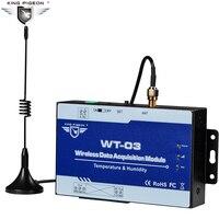 Беспроводной регистрирующий модуль 433 МГц LoRa IoT Трансмиссия модуль 1 температура + Влажность вход поддерживает Modbus RTU WT-03