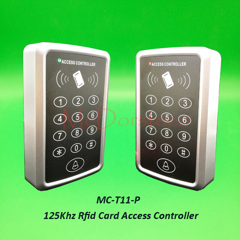 T11 P 125khz Rfid Access Control Press Keypad RFID Door Access Control System Door Lock Controller