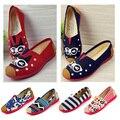 Nuevo 2015 de La Moda de Alta Calidad Zapatos Perezosos Mujeres Colorido Plana zapatos de Las Mujeres Pisos Resbalón En los Zapatos Para Mujer Primavera Verano Caliente venta