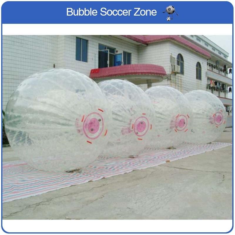 Бесплатная доставка zorb 2.5 м Диаметр людской мяч 0.8 мм ПВХ Материал игры на открытом воздухе надувной мяч гигантские надувные игрушка