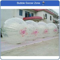 Free Shipping Zorb Ball 2.5m Diameter Human Hamster Ball 0.8mm PVC Material Outdoor Game Inflatable Ball Giant Inflatable Toy