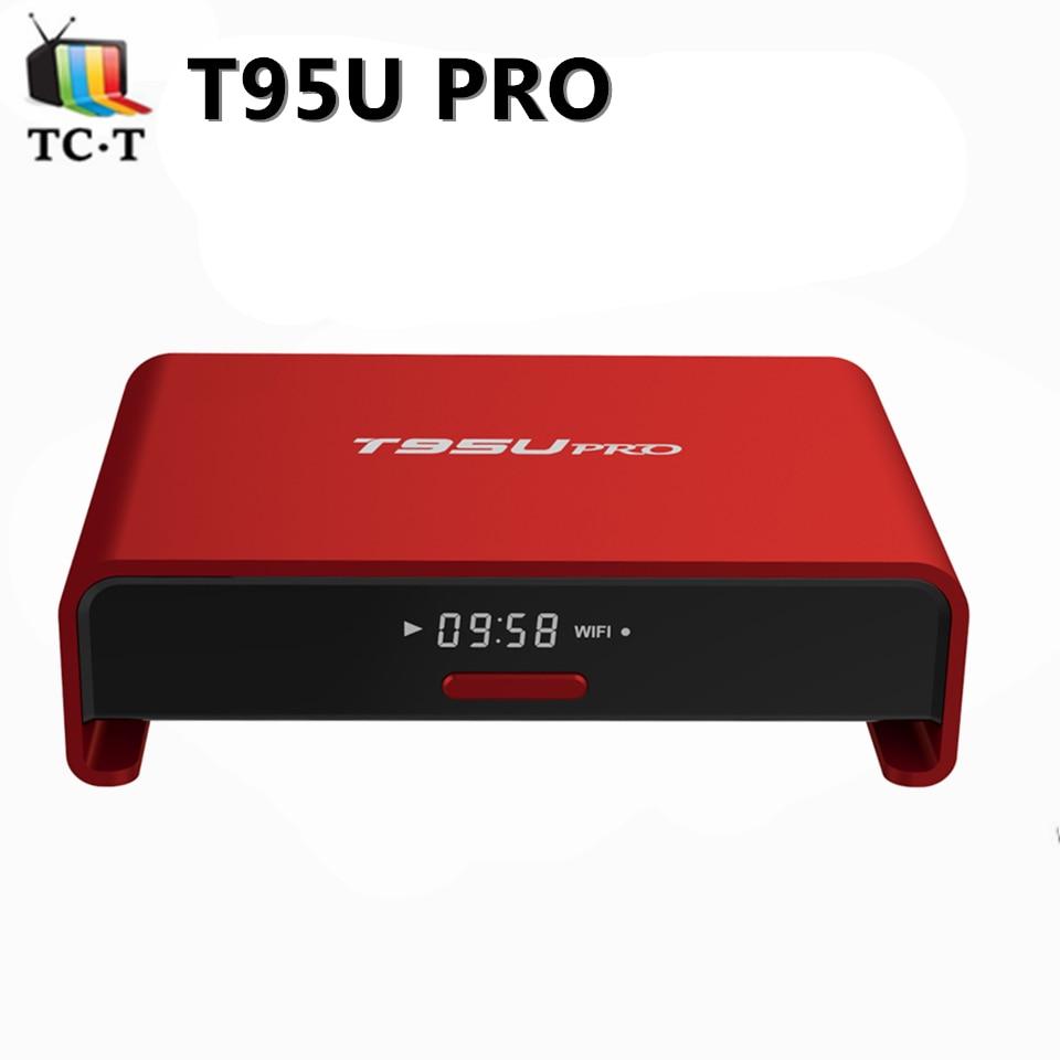 T95 T95U pro Amlogic S912 Octa Core TV BOX 2GB 16GB Android 6.0 WIFI Bluetooth BT4.0 Gigabit LAN Full Kodi Load HD TV BOX zidoo x6 pro mini pc android 5 1 tv box rk3368 octa core 2gb 16gb gigabit ethernet hdmi 4k kodi 16 0 aluminium eurpean iptv box