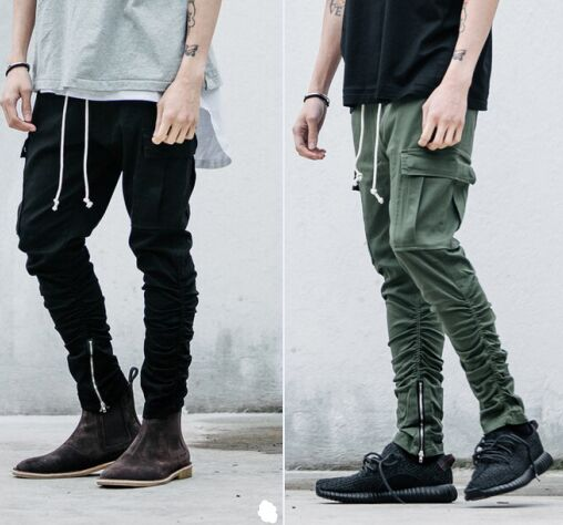 Popular Black Cargos-Buy Cheap Black Cargos lots from China Black ...