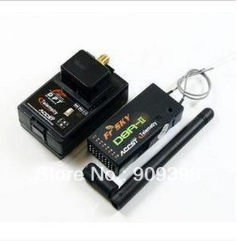 FrSky DJT D8R Tx/Rx 2.4GHz 2-WAY Combo 1 for JR frsky djt 2 4ghz combo pack for jr w module with d8r ii plus receiver